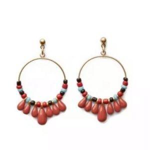 Cabi La Boheme Hoop Earrings #2176 NWT
